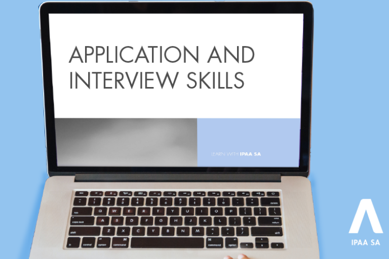 Application and Interview Skills online