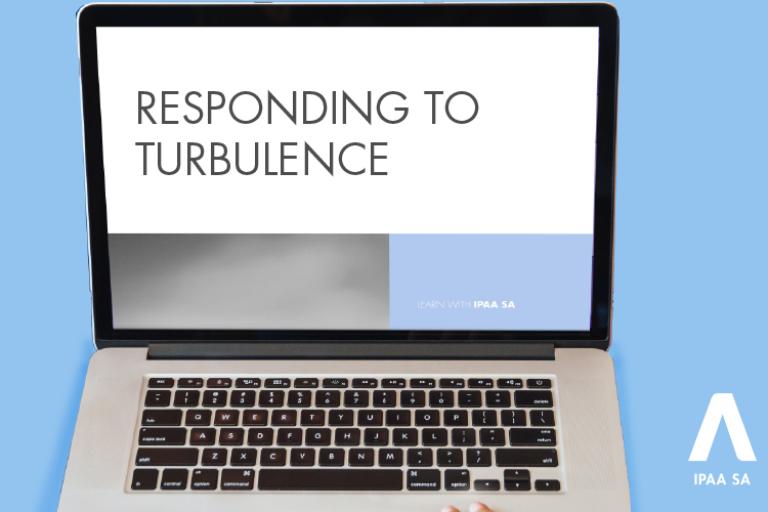 responding to turbulence