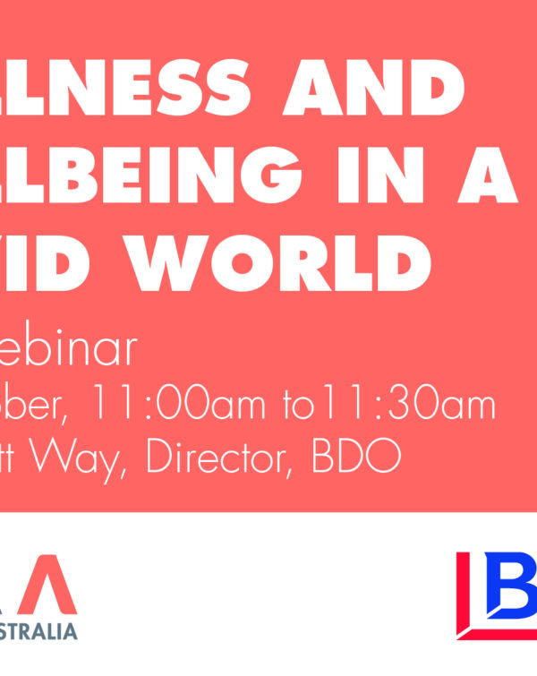 wellness and wellbeing in a covid world