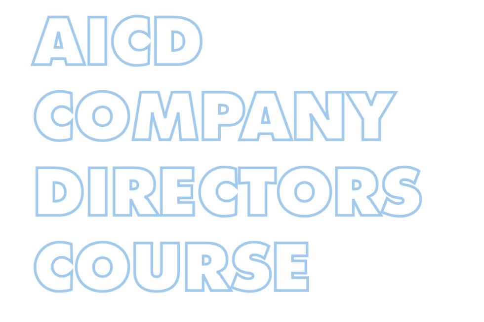 AICD Company Directors Course