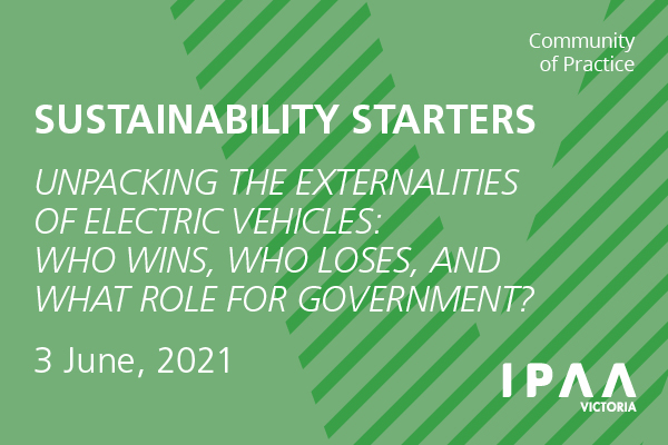 Unpacking the externalities of Electric Vehicles: Who wins, who loses, and what role for government?
