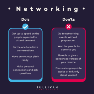 Networking Do's and Dont's
